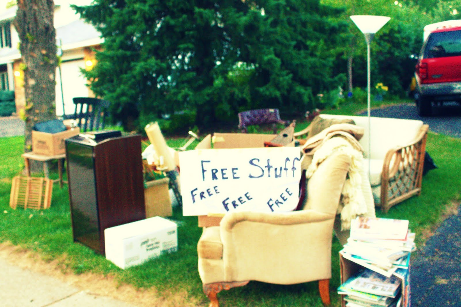 Image result for free stuff at the curb